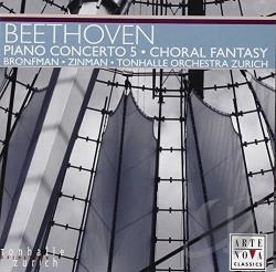 Bronfman: pno / To / Zinman: cnd - Beethoven: Piano Concerto No. 5; Choral Fantasy CD Cover Art