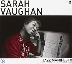 Vaughan, Sarah - Jazz Manifesto CD Cover Art