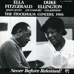 Ellington, Duke / Fitzgerald, Ella - Stockholm Concert, 1966 CD Cover Art