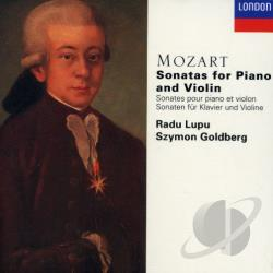 Goldberg / Lupu / Mozart - Violin Sonatas CD Cover Art