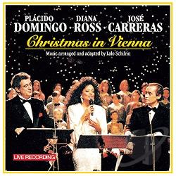 Ross, Diana - Christmas in Vienna CD Cover Art