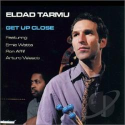 Tarmu, Eldad - Get Up Close CD Cover Art