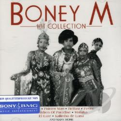 Boney M - Hit Collection CD Cover Art