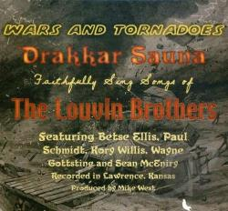 Drakkar Sauna - Wars and Tornadoes CD Cover Art