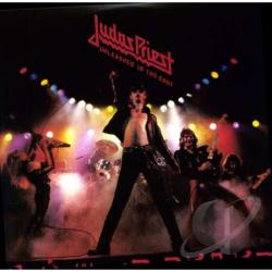 Judas Priest - Unleashed in the East LP Cover Art