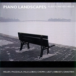 Heller, Alberto Andr�s - Piano Landscapes CD Cover Art