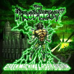 Prophecy 23 - Green Machine Laser Beam CD Cover Art