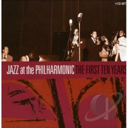 JAZZ AT THE PHILHARMONIC - First Ten Years CD Cover Art