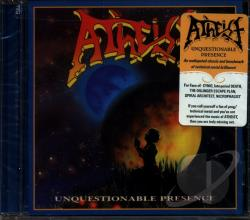 Atheist - Unquestionable Presence CD Cover Art