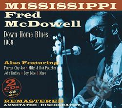 Mcdowell, Mississippi Fred - Downhome Blues 1959 CD Cover Art