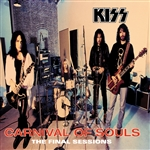 Kiss - Carnival of Souls: The Final Sessions CD Cover Art