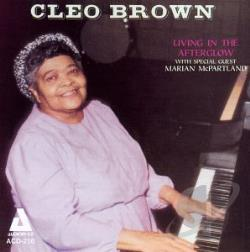 Brown, Cleo - Living in the Afterglow CD Cover Art
