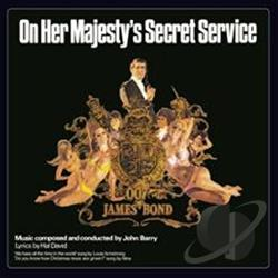 Barry, John - On Her Majesty's Secret Service CD Cover Art