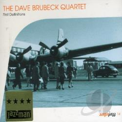 Brubeck, Dave / Brubeck, Dave Quartet - 1st Definitions CD Cover Art