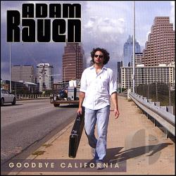 Raven, Adam - Goodbye California CD Cover Art