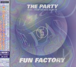 Fun Factory - Party Non-Stop Remix Album CD Cover Art