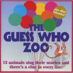 Guess Who Gang - Guess Who Zoo CD Cover Art
