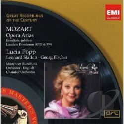 Mozart, Wolfgang Amadeus - Opera Arias CD Cover Art