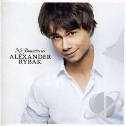 Rybak, Alexander - No Boundaries CD Cover Art