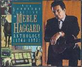 Haggard, Merle - Lonesome Fugitive: The Merle Haggard Anthology CD Cover Art