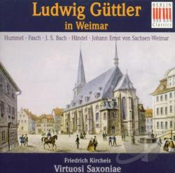Guttler (tpt, cnd) / Virtuos - Ludwig Guttler in Weimar CD Cover Art