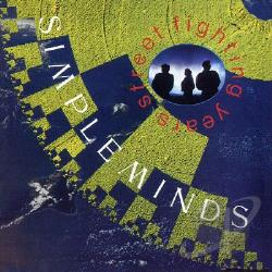 Simple Minds - Street Fighting Years CD Cover Art
