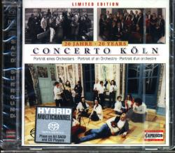 Concerto Koln - Concerto Koln: 20 Years: Potra CD Cover Art