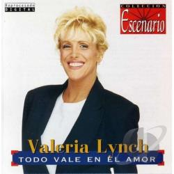 Lynch, Valeria - Todo Vale En El Amor CD Cover Art