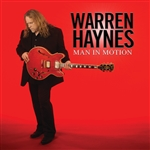 Haynes, Warren - Man In Motion DB Cover Art