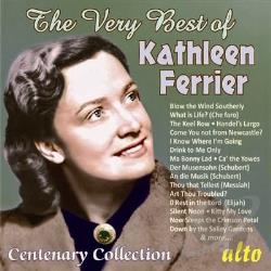 Ferrier, Kathleen - Very Best of Kathleen Ferrier: Centenary Collection CD Cover Art
