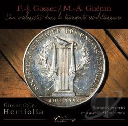 Ensemble Hemiolia - Trio Sonatas/GUENIN CD Cover Art