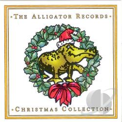 Alligator Records Christmas Collection CD Cover Art
