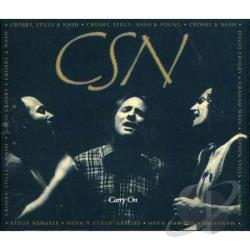 Crosby, Stills, and Nash - Carry On CD Cover Art