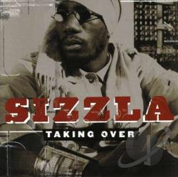 Sizzla - Taking Over CD Cover Art