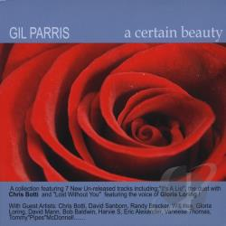 Parris, Gil - Certain Beauty CD Cover Art