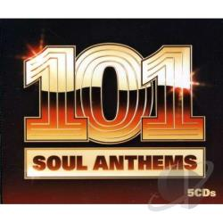 101 Soul Anthems CD Cover Art