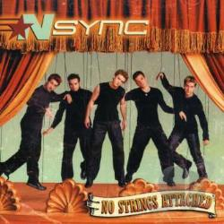 N Sync - No Strings Attached CD Cover Art