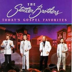 Statler Brothers - Today's Gospel Favorites CD Cover Art