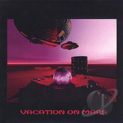 Vacation On Mars - Demo CD Cover Art