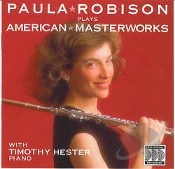 Robison, Paula - Paula Robison Plays American Masterworks CD Cover Art