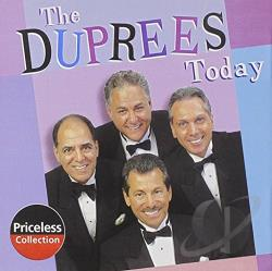 DuPrees - Today CD Cover Art