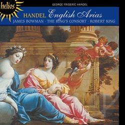 Bowman / Handel / King - Handel: English Arias CD Cover Art