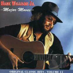 Williams, Hank, Jr. - Major Moves CD Cover Art