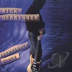 Derringer, Rick - Jackhammer Blues CD Cover Art