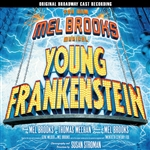 O.B.C.R. / Young Frankenstein - Mel Brooks Musical - Young Frankenstein CD Cover Art