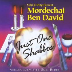 Mordechai Ben David - Just One Shabbos CD Cover Art