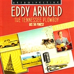 Arnold, Eddy - Eddy Arnold. The Tennessee Plowboy - His 59 Finest 1944-1955 DB Cover Art
