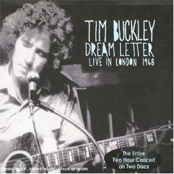 Buckley, Tim - Dream Letter: Live in London 1968 CD Cover Art