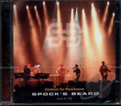 Spock's Beard - Gluttons for Punishment CD Cover Art
