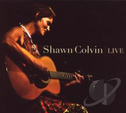 Colvin, Shawn - Live CD Cover Art